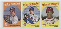 Mike Mussina, Ryan Dempster, Edinson Volquez