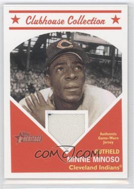 2008 Topps Heritage - Clubhouse Collection Relic #CCMIMI - Minnie Minoso