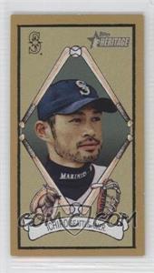 2008 Topps Heritage - T205 Mini #HTCP11 - Ichiro Suzuki