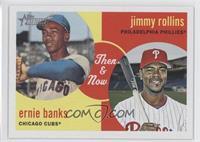 Jimmy Rollins, Ernie Banks