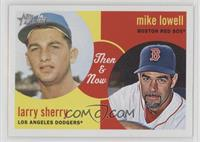 Mike Lowell, Larry Sherry
