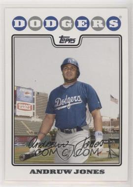 2008 Topps Los Angeles Dodgers - [Base] #LAD5 - Andruw Jones