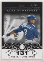 Alex Rodriguez (2007 - 500 Career Home Runs (518 Total)) /25