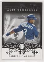 Alex Rodriguez (2007 - 500 Career Home Runs (518 Total)) #/25