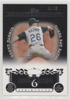 Scott Kazmir (2007 MLB Superstar - 239 Strikeouts) /25