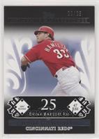 Josh Hamilton (2007 Rookie - 47 RBIs) #/25