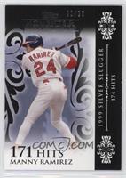 Manny Ramirez (1999 Silver Slugger - 174 Hits) #/25