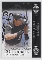 Matt Holliday (2007 All-Star - 50 Doubles) #/25