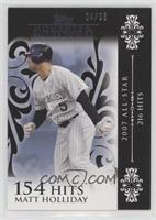 Matt Holliday (2007 All-Star - 216 Hits) #/25