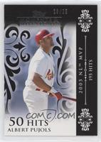 Albert Pujols (2005 NL MVP - 195 Hits) #/25