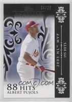 Albert Pujols (2005 NL MVP - 195 Hits) /25
