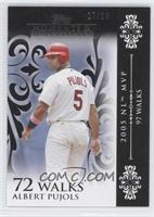 Albert Pujols (2005 NL MVP - 97 Walks) /25