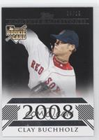 Clay Buchholz (American League Rookie) /25
