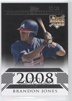 Brandon Jones (2008 Rookie) #/25