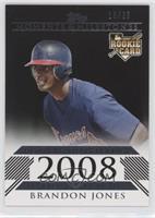 Brandon Jones (Rookie Outfielder) #/25