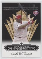 Ryan Howard (2006 NL MVP - 149 RBIs) #/25