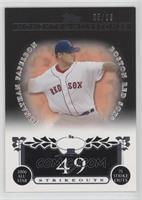 Jonathan Papelbon (2006 All-Star - 75 Ks) /25