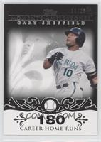 Gary Sheffield (2007 - 450 Career Home Runs (480 Total)) /25