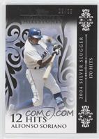 Alfonso Soriano (2004 Silver Slugger - 170 Hits) /25