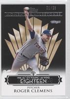 Roger Clemens (1998 AL Cy Young - 20 Wins) /25