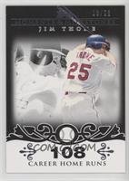 Jim Thome (2007 - 500 Career Home Runs (507 Total)) /25
