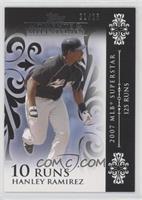 Hanley Ramirez (2007 MLB Superstar - 125 Runs) #/25