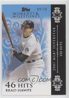 Brad Hawpe (2007 MLB Superstar - 150 Hits) [Noted] #/10