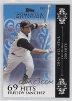 Freddy Sanchez (2006 All-Star - 200 Hits) #/10