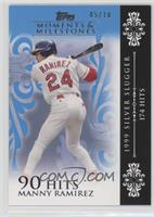 Manny Ramirez (1999 Silver Slugger - 174 Hits) #5/10