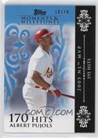 Albert Pujols (2005 NL MVP - 195 Hits) /10