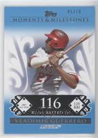 Vladimir Guerrero (2007 All-Star - 125 RBI) /10