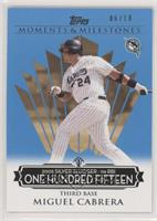 Miguel Cabrera (2005 Silver Slugger - 116 RBIs) #/10