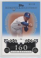 Pedro Martinez (1999 AL Cy Young - 313 Ks) #3/10