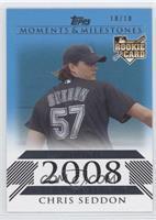 Chris Seddon (2008 Rookie) /10