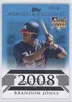 Brandon Jones (2008 Rookie) #/10