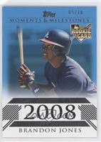 Brandon Jones (National League Rookie) #/10