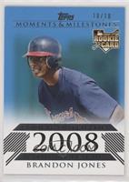 Brandon Jones (Rookie Outfielder) #/10