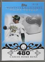 Frank Thomas (2007 - 500 Career Home Runs (513 Total)) [Noted] #/10