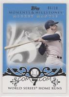 Mickey Mantle (18 World Series Home Runs) #/10