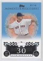 Jonathan Papelbon (2006 All-Star - 75 Ks) #/10