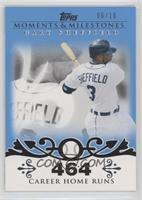 Gary Sheffield (2007 - 450 Career Home Runs (480 Total)) /10
