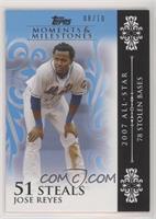 Jose Reyes (2007 All-Star - 78 Stolen Bases) /10
