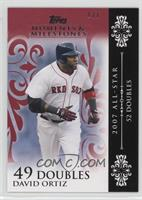 David Ortiz (2007 All-Star - 52 Doubles) #1/1