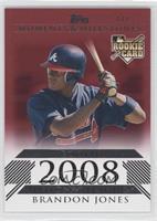 Brandon Jones (2008 Rookie) /1