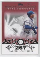 Gary Sheffield (2007 - 450 Career Home Runs (480 Total)) /1