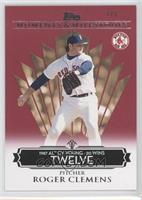 Roger Clemens (1987 AL Cy Young - 20 Wins) /1