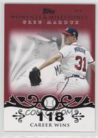Greg Maddux (Career Milestone - 300 Wins (347 Total)) #1/1