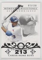 Alex Rodriguez (2007 - 500 Career Home Runs (518 Total)) /150