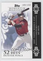 Hunter Pence (2007 Topps Rookie Cup - 147 Hits) #/150