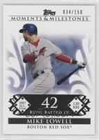 Mike Lowell (2007 All-Star - 120 RBIs) /150